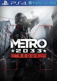 Metro 2033 Redux VIP PS4