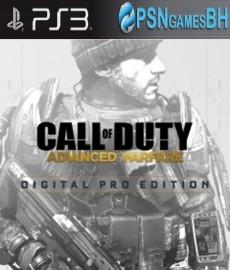 Call of Duty Advanced Warfare Digital Pro PSN PS3
