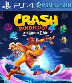 Crash Bandicoot 4 It's About Time Secundaria PS4