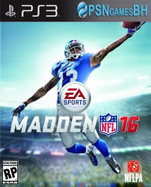 Madden NFL 16 PSN PS3