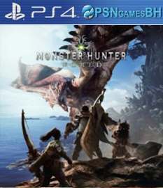Monster Hunter: World VIP PS4
