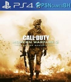 Call of Duty: Modern Warfare 2 Remastered Campanha Secundaria PS4